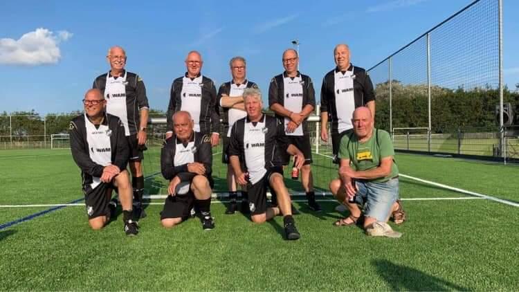 Succesvol toernooi Walking Football team vv Assendelft