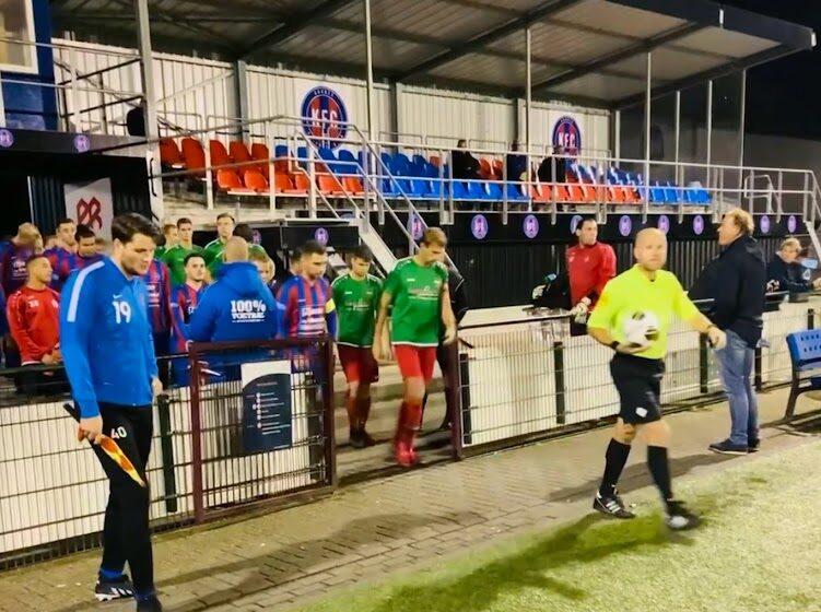 KFC houdt Zaanse eer hoog en bekert als enige Zaanse ploeg door naar 2e ronde