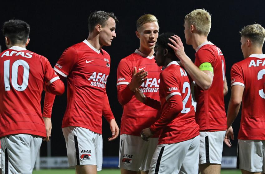 Jong AZ trapt Tweede Periode af in Breda